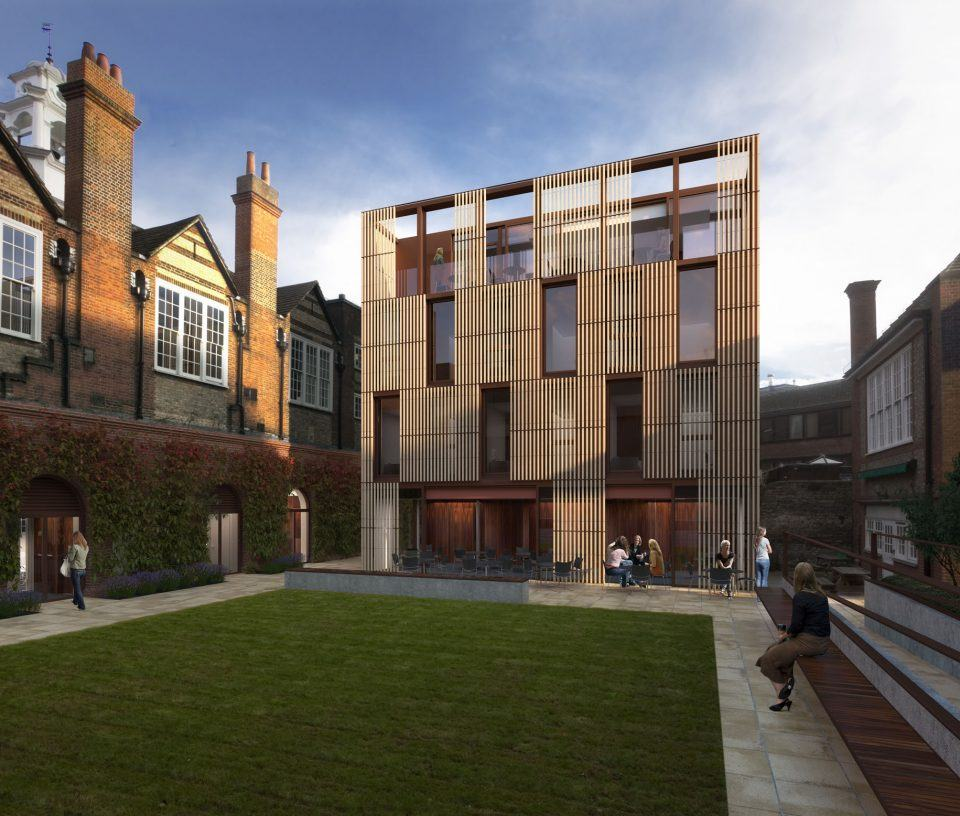 St. Peter's College, Oxford, Design Engine Architects